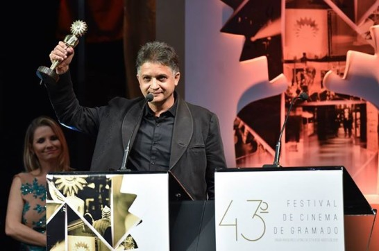 Kiki Alvarez Premio en Gramado